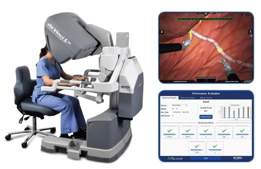 utilização de robôs em cirurgia