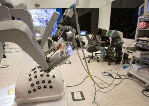 cirurgia robotica treinamento